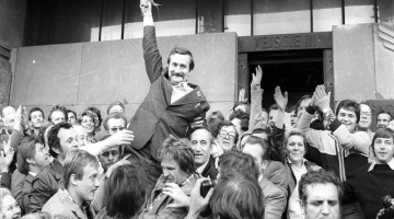 Lech Walesa and Solidarnost. Image: EUobserver/Polish Goverment